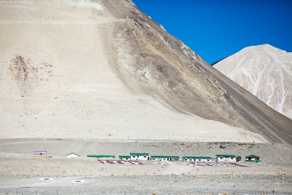 The ITBP is the first line of defence on the LAC and the army remains behind it