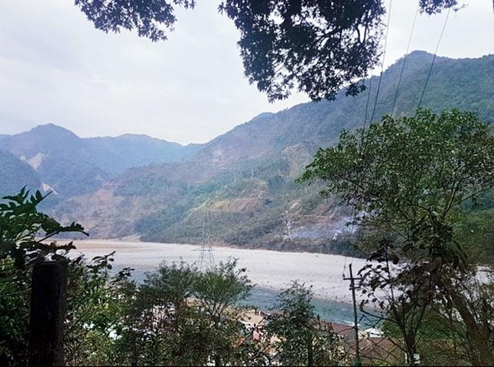 A view of Parshuram Kund.