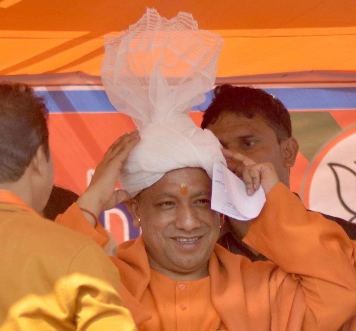 "Addressing a public meeting in Ayodhya on Tuesday, the chief minister had said: ""Ayodhya hamaari aan, baan aur shaan ka prateek hai (Ayodhya symbolises our bravery, speech and self-respect.)"""