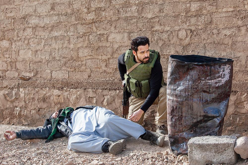 Emraan Hashmi as Kabir Anand in 'Bard of Blood'