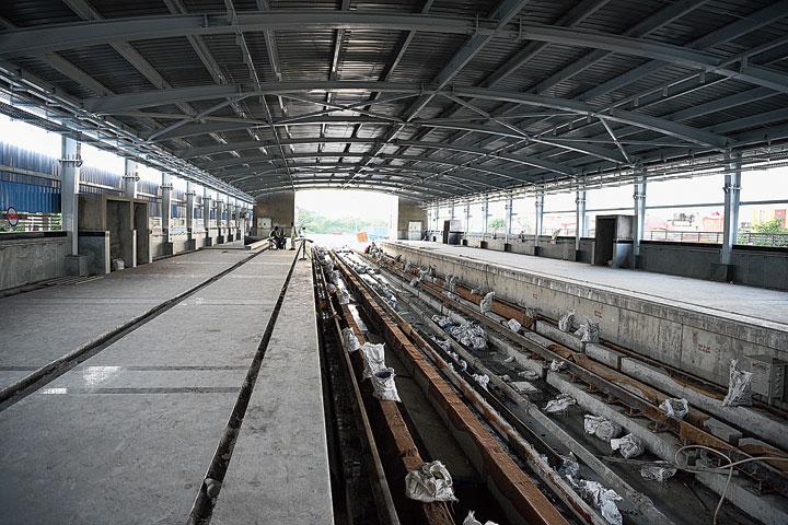 March date for Noapara-Dakshineswar Metro line - Telegraph India