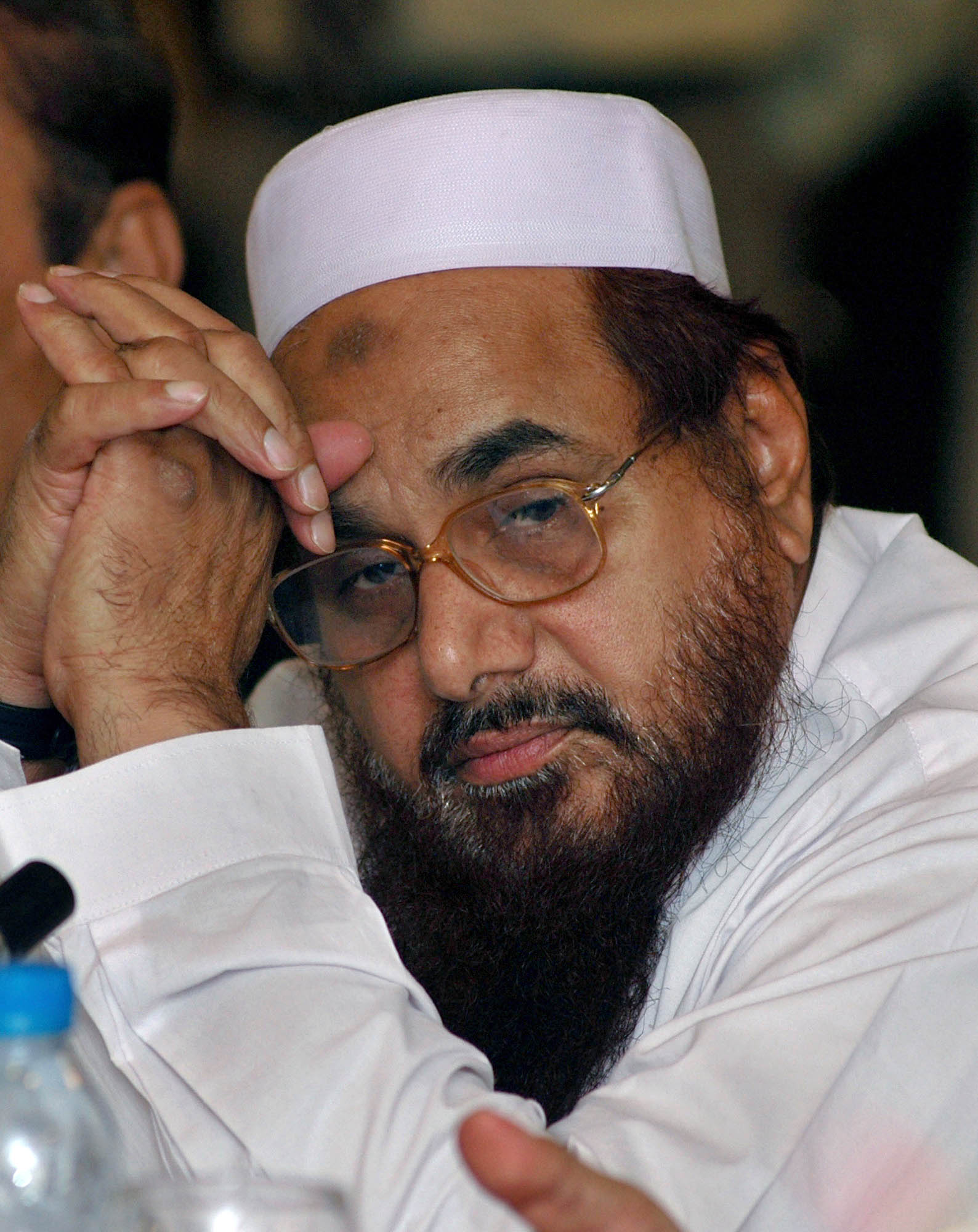 Hafiz Saeed is the co-founder of the Lashkar-e-Toiba, which was responsible for the Mumbai terror attacks in 2008.