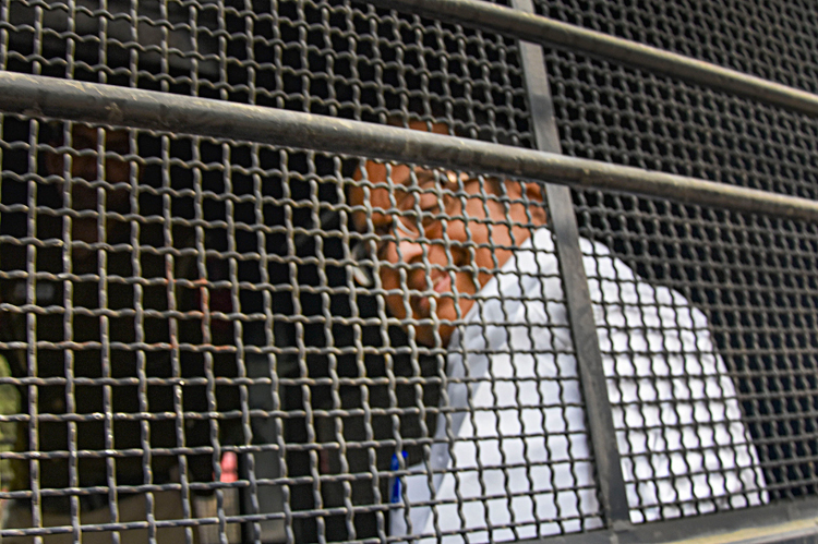 P Chidambaram leaves Tihar Jail in New Delhi on Wednesday