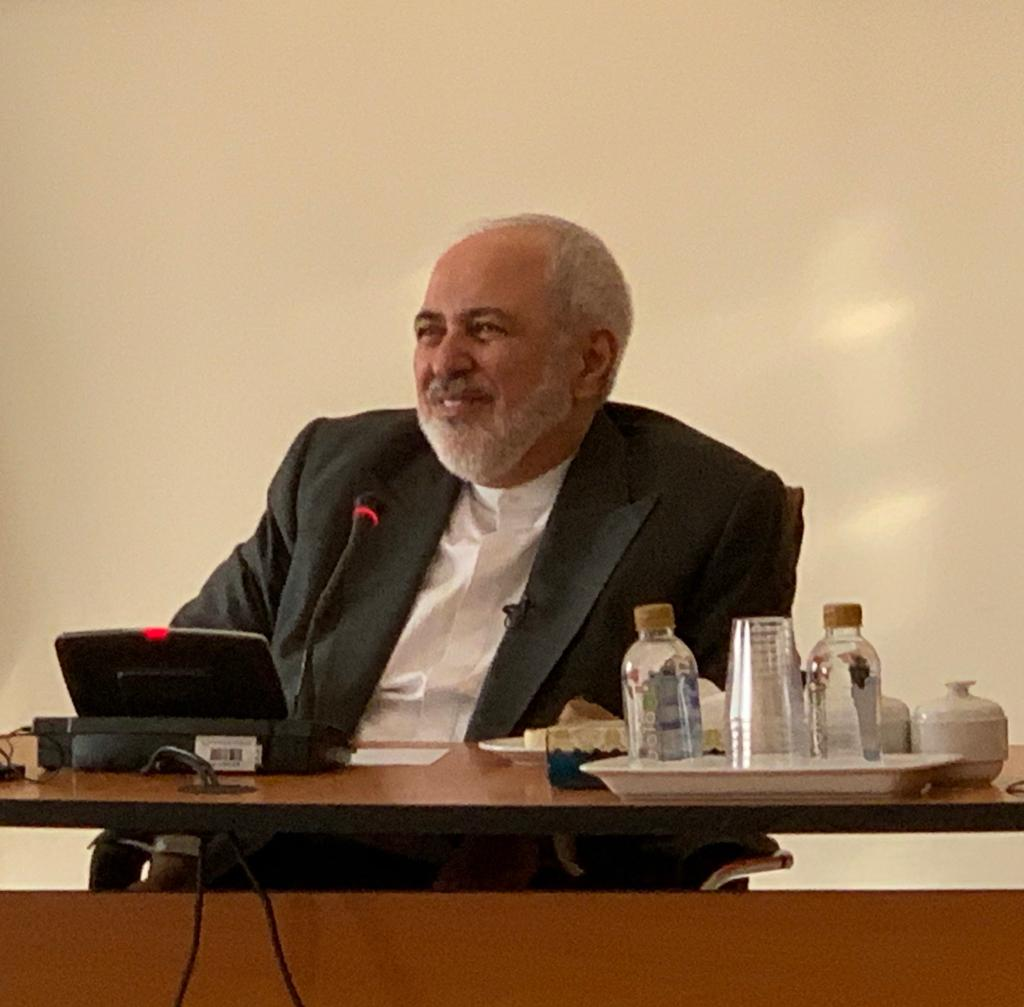 Iran's foreign minister Javed Zarif