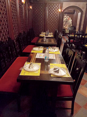 Disposable and packed cutlery at Oudh 1590