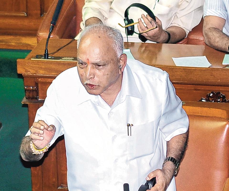 Yediyurappa wins trust vote, Speaker Ramesh Kumar quits