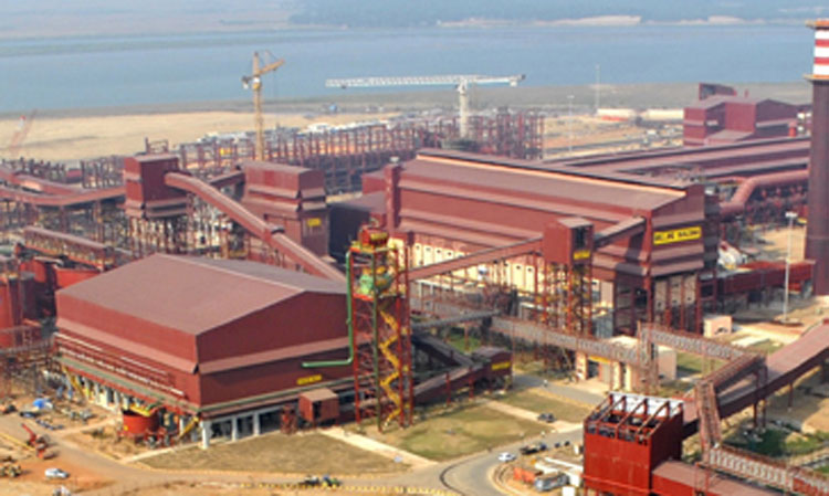 An Essar Steel plant