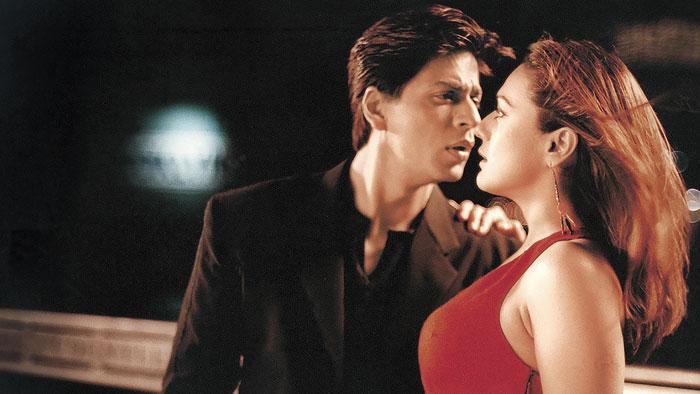 Shah Rukh Khan and Preity Zinta in Kal Ho Naa Ho