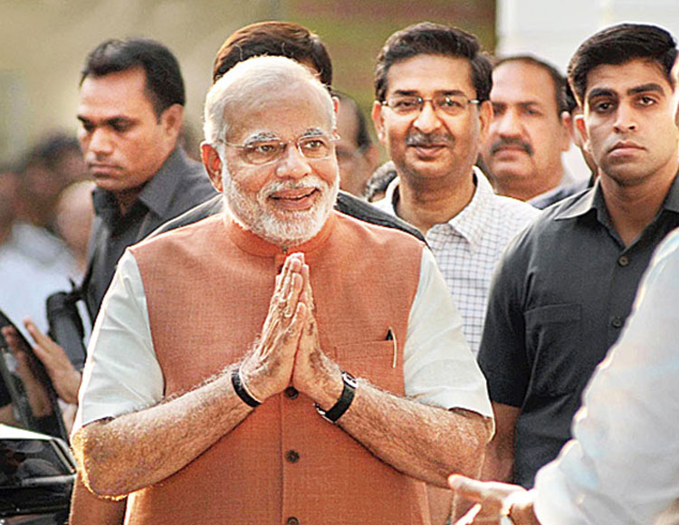 The Prime Minister in a 'Modi jacket'