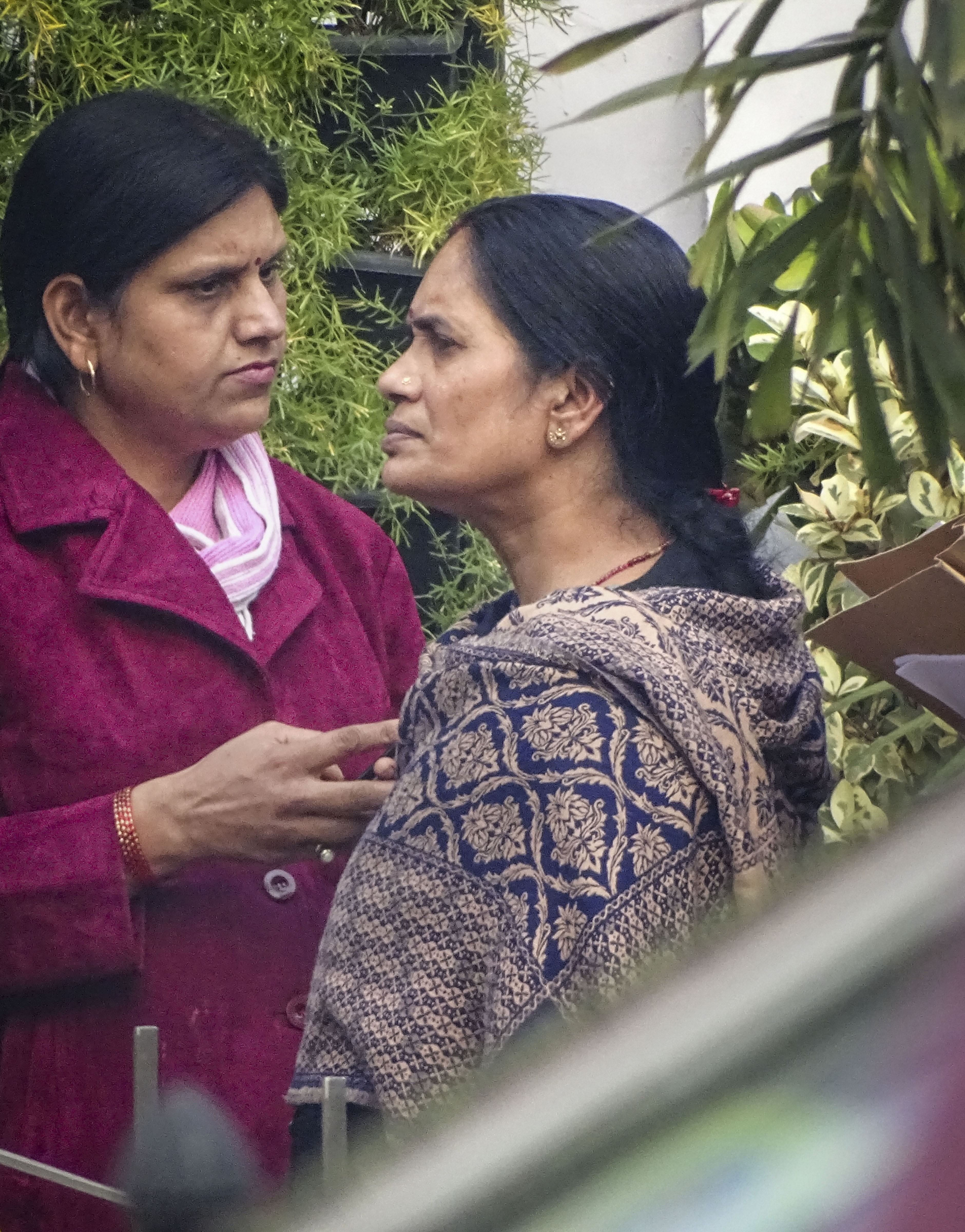 Mother of Nirbhaya case victim outside the Patiala House Court in New Delhi, Tuesday, January 7, 2020.