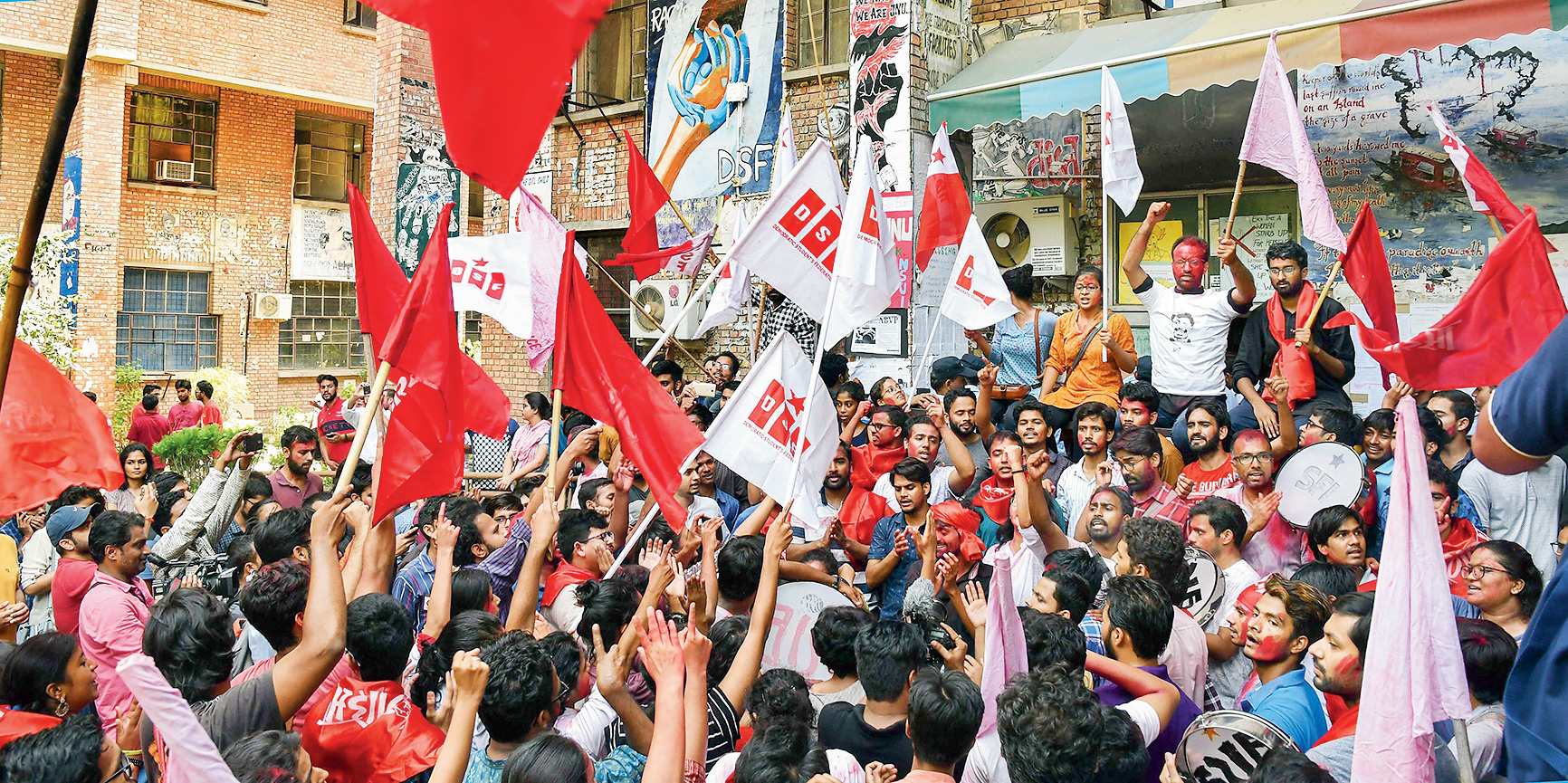 Space for dialogue between ideological opponents narrows at JNU