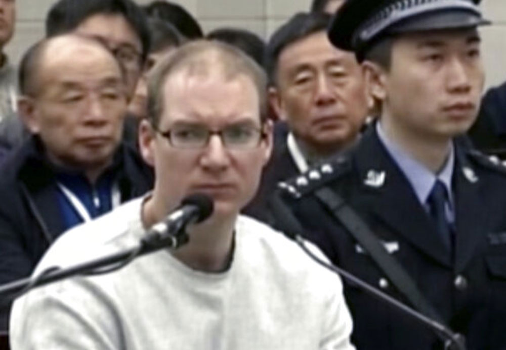 China sentences Canadian to death, raises diplomatic tension