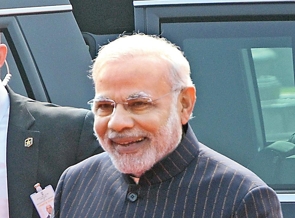 Prime Minister Narendra Modi. He has a personal rapport with his Israeli counterpart Benjamin Netanyahu