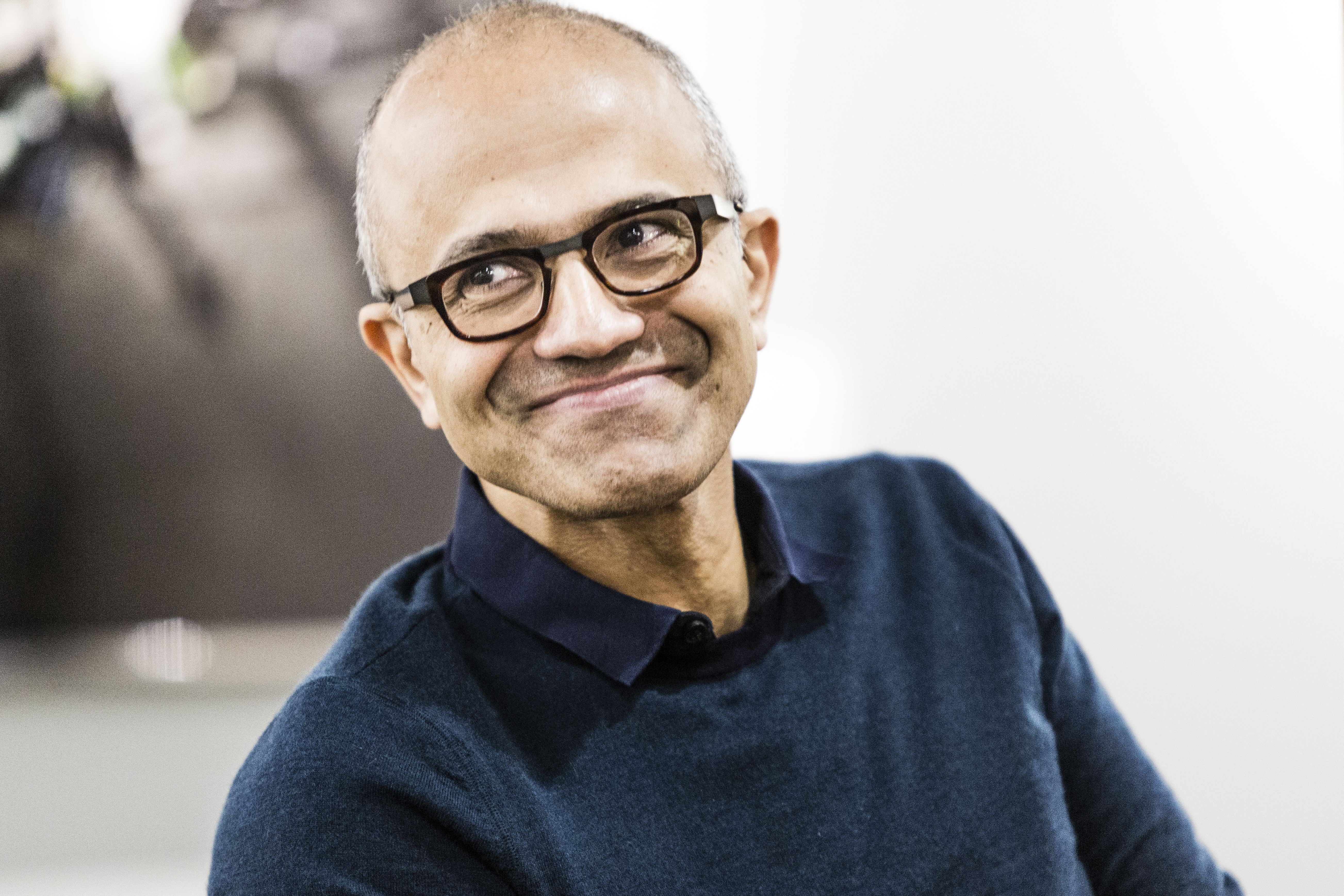 My hope is for an India where an immigrant can aspire to find a prosperous start-up or lead a multinational corporation benefitting Indian society and the economy at large, Microsoft CEO Satya Nadella said.