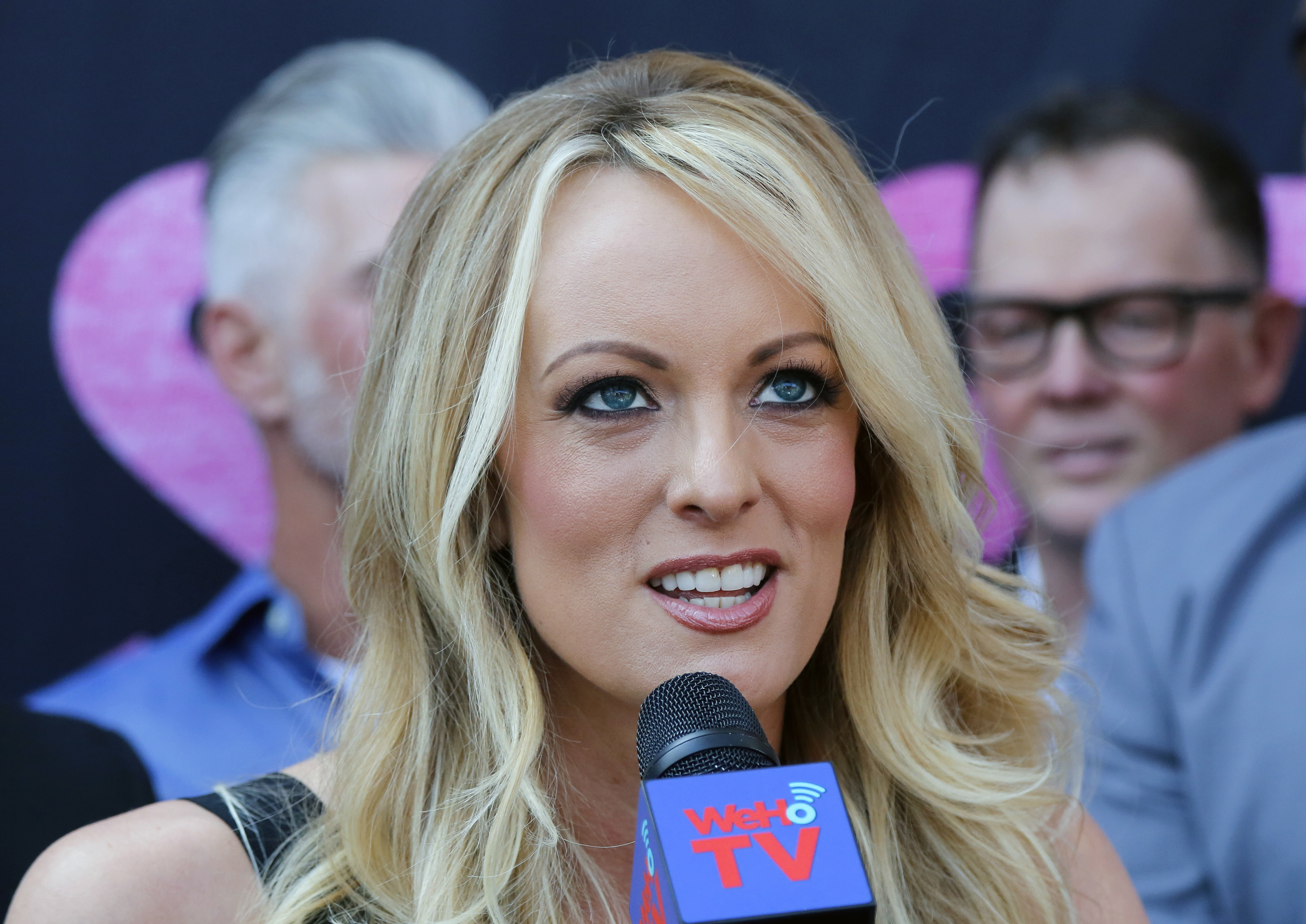 Trump says the payment to Stormy Daniels was a private matter unrelated to his campaign.
