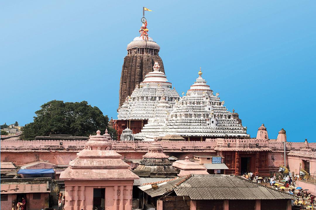 The Jagannath Temple in Puri
