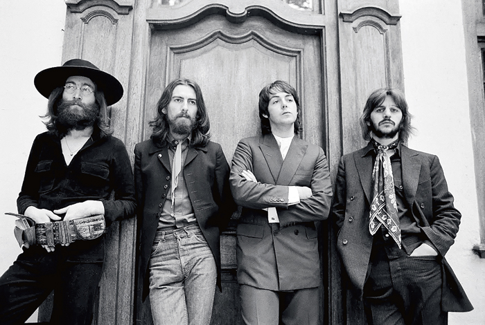 From the Beatles' last photo session in August 1969