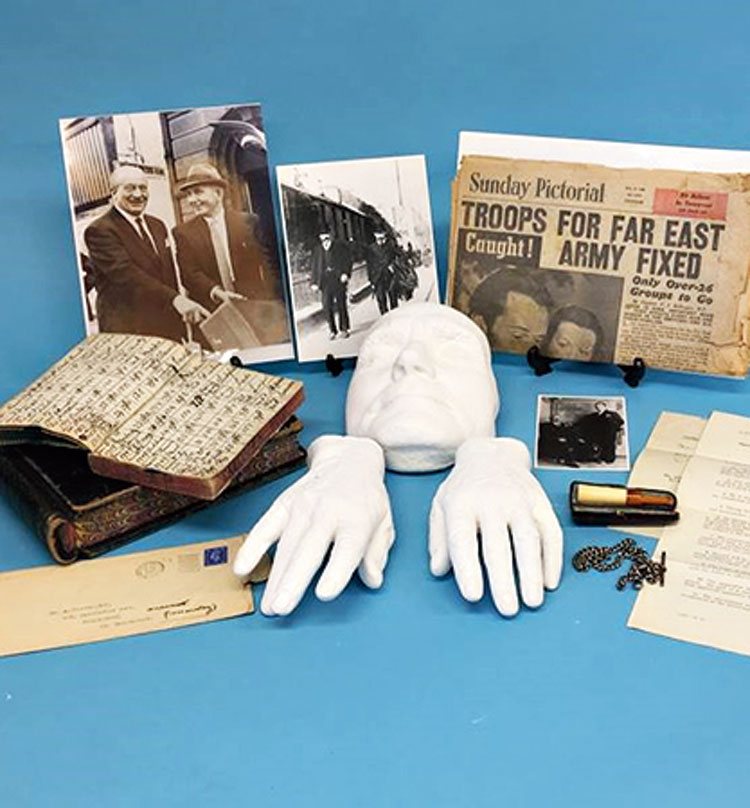 Belongings of Albert Pierrepoint that will be up for auction