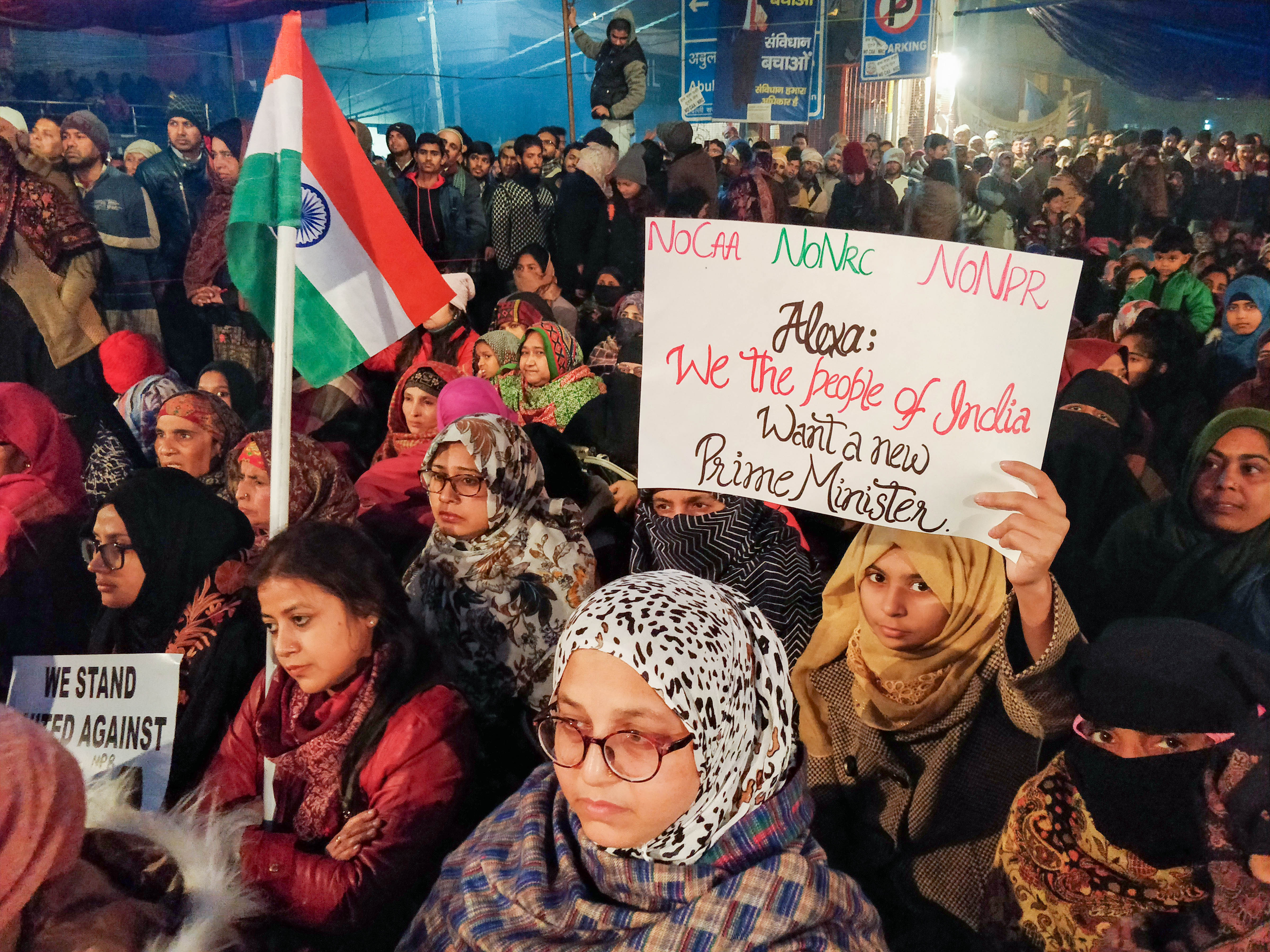 Delhi's Shaheen Bagh heralds New Year with anti-CAA protest