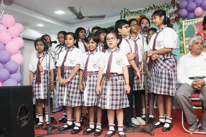 "The primary block of Kalyani Public School, Barasat, was inaugurated recently. Angel Education Society founder secretary Rudrabir Roy, society president Erina Roy, principal Rupa Dey and Barasat Municipality chairman Sunil Mukherjee were present on the occasion. ""The primary block has been set up with modern amenities such as science lab, robotics lab and a computer lab,"" the principal said."