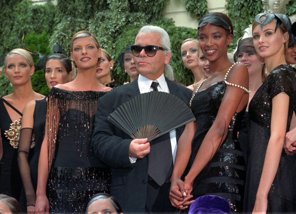 Karl Lagerfeld: The man who put the show in fashion show