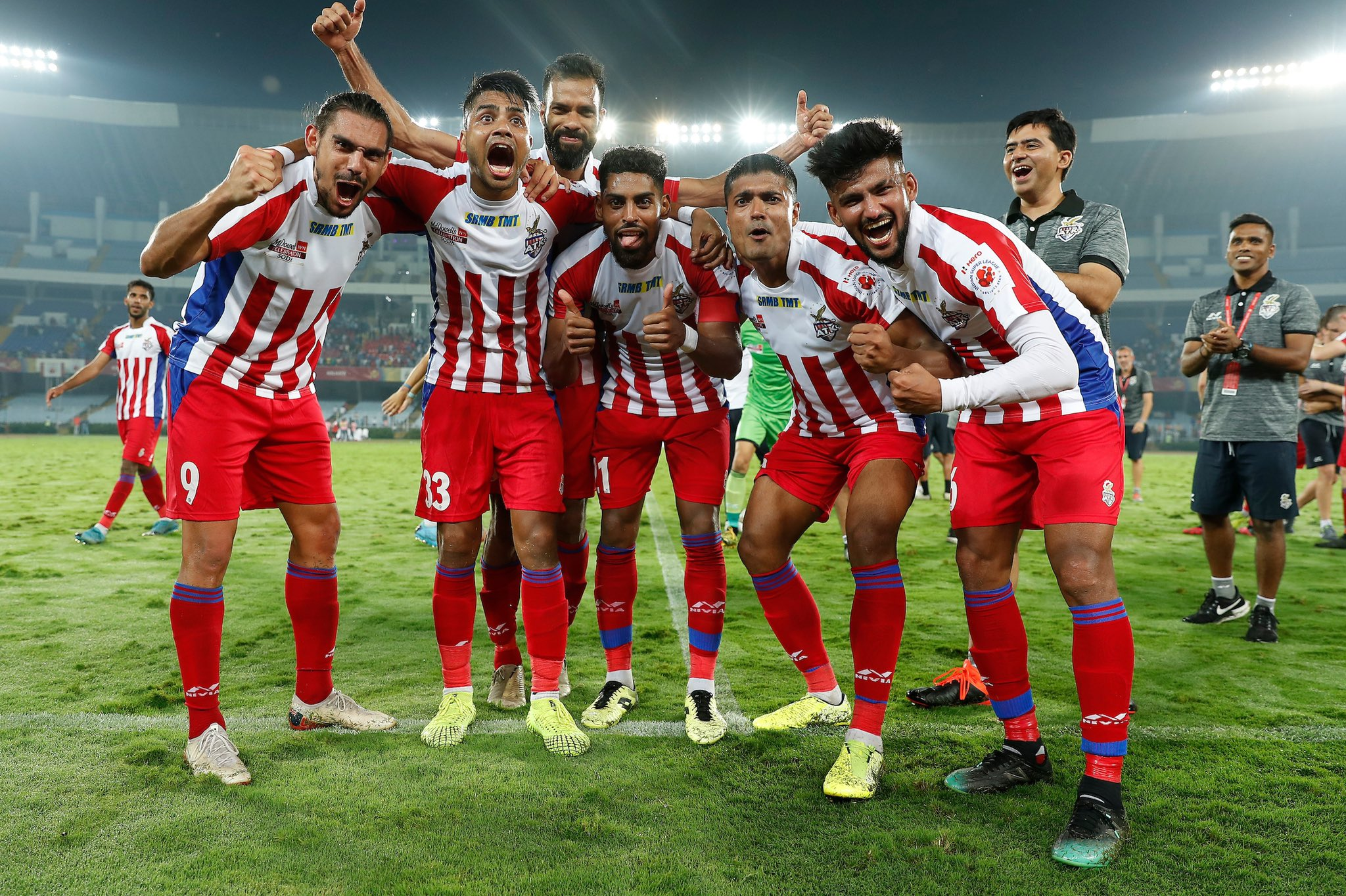 ATK players wait for ISL title