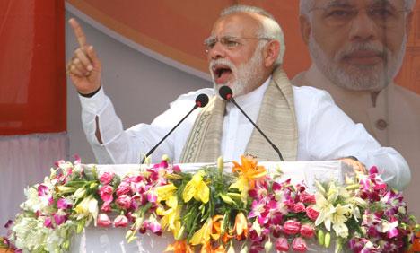 Modi who cleared Modi