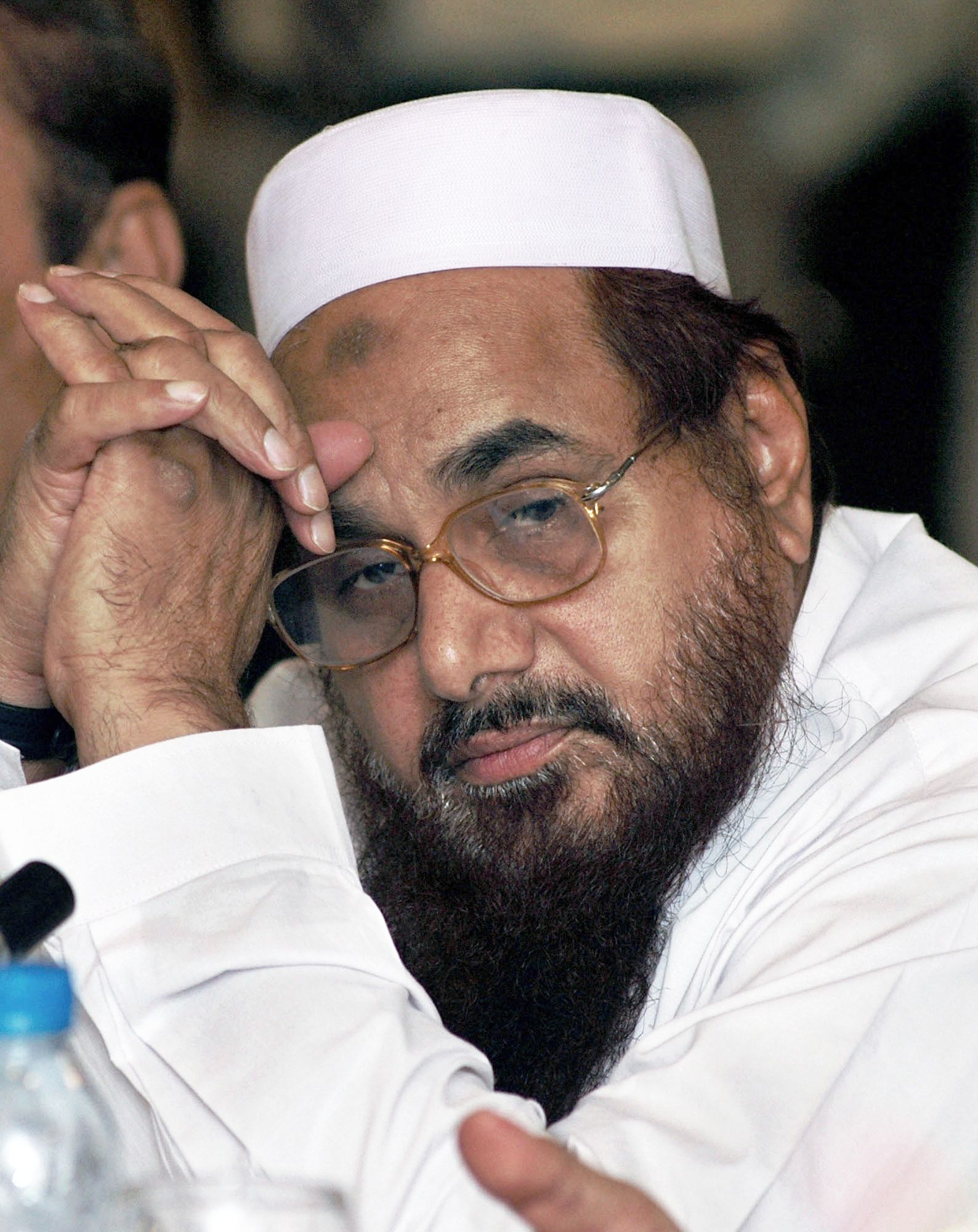 Hafeez Saeed is the co-founder of the Lashkar-e-Toiba, which was responsible for the Mumbai terror attacks in 2008.