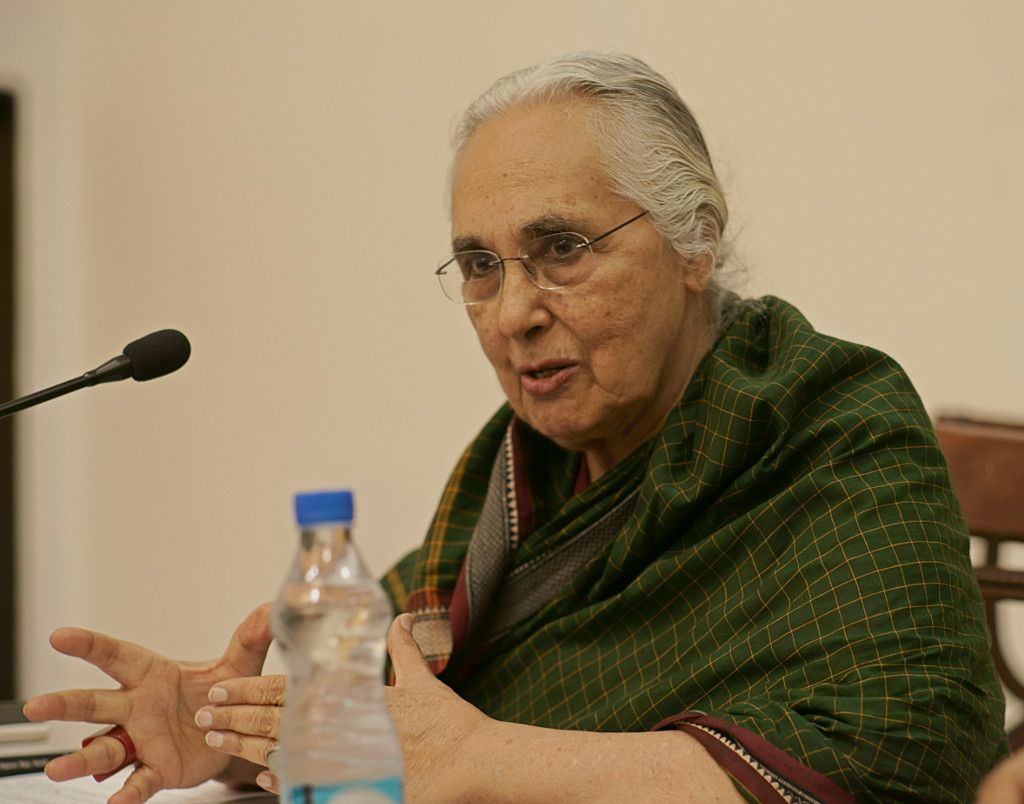 Historian Romila Thapar has been steadily critical of the government