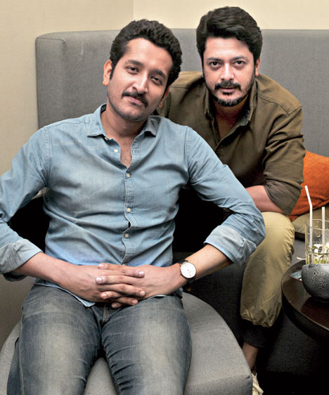 Shonar Pahar co-stars Parambrata and Jisshu high-five to friendship and  films - Telegraph India