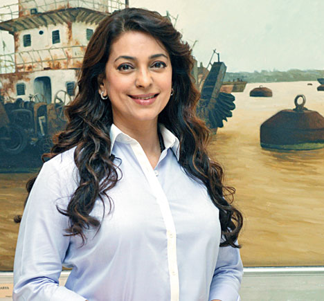 KKR, kids and the green cause — Juhi Chawla's easy busy life - Telegraph  India