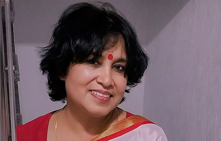 After learning she would get just a three-month extension, Taslima Nasreen (in picture) had on Wednesday posted a tweet requesting home minister Amit Shah to extend her visa for at least a year. Her residence permit was to expire at the end of this month.