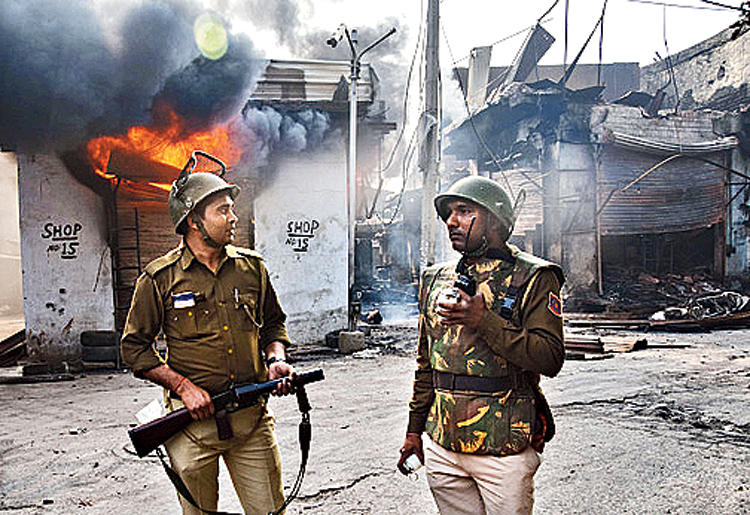 The carnage of Delhi, horrific as it was, cannot be understood as only about the volatilities of a low-income tinderbox on one edge of the capital. It has to be understood in the context of the never-before circumstances we are in