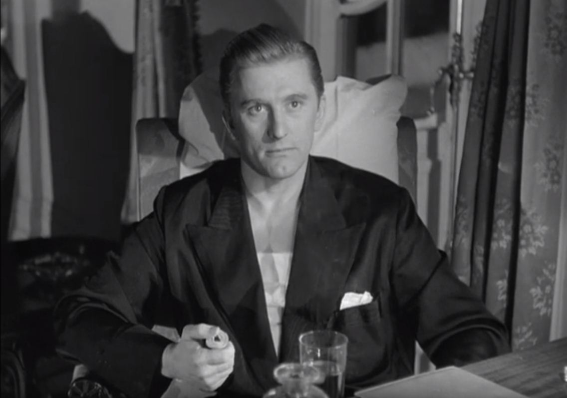 Kirk Douglas in Out of the Past (1947)