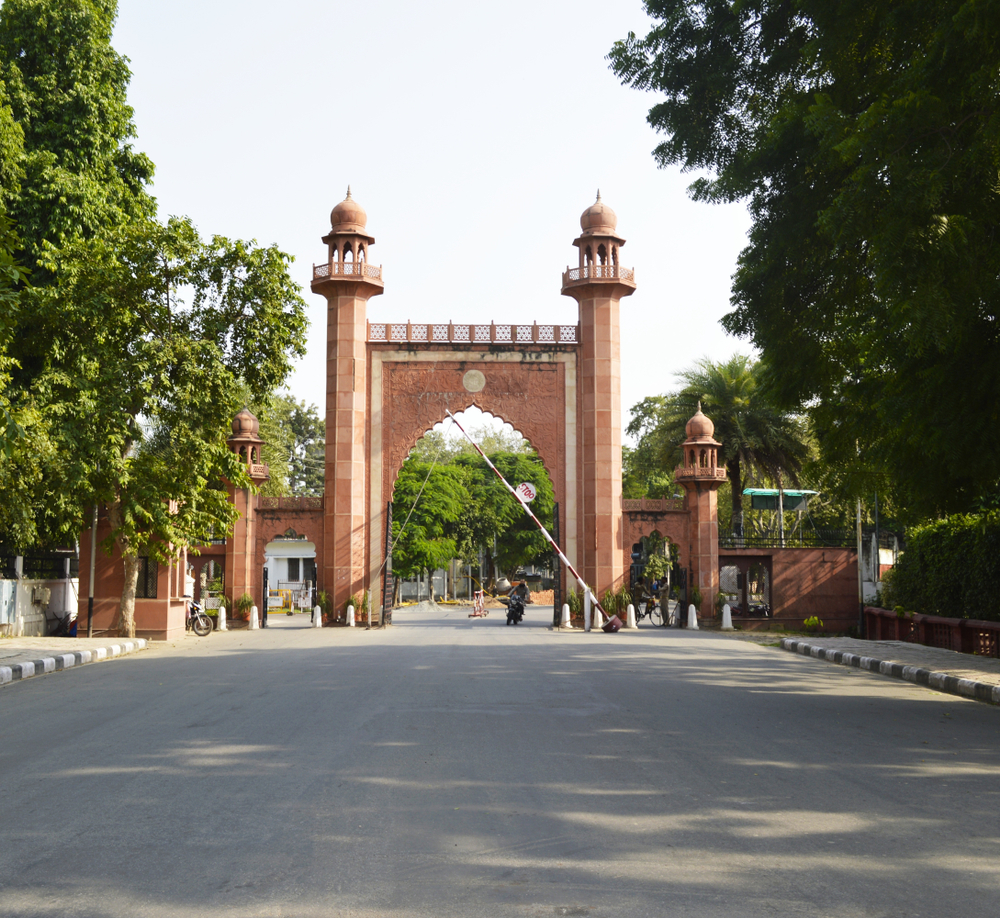 Clashes at Aligarh Muslim University appeared to have been triggered by reports that AIMIM leader Asaduddin Owaisi was visiting the campus