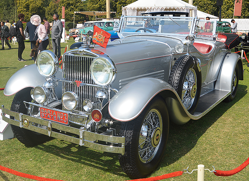 Delhi-based Diljeet Titus's 1930 Stutz Model M, which has been re-restored to the specs in which it had come to India, won the top honours in the Pre-War Classic American class.