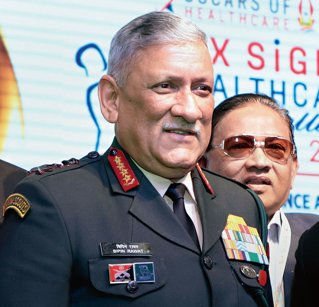 Chief of Defence Staff Gen Bipin Rawat said the countries which are sponsoring terrorism cannot be part of global fight against terror networks.