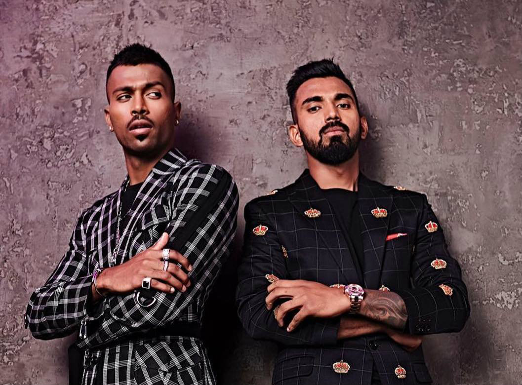 The road to redemption for Hardik Pandya  (left) and K.L. Rahul could prove to be tricky.