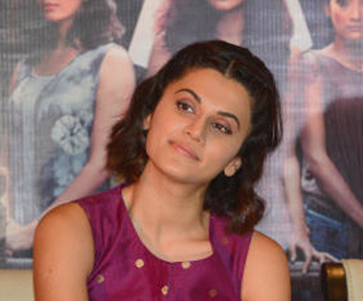 Tapsee Pannu back with Amitabh Bachchan for Badla