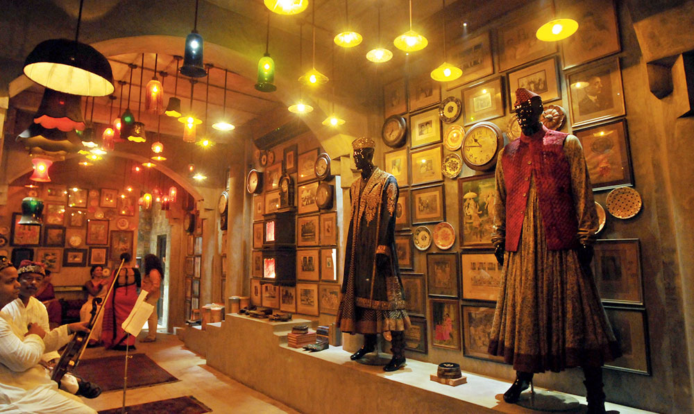 The Calcutta store was about 40 per cent retail and 60 per cent experience