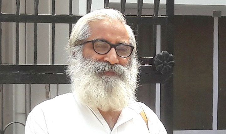 "Sandeep Pandey told this newspaper over the phone that the planned candlelight protest in Lucknow's Hazratganj area, to demand the ""return of democracy"" to Jammu and Kashmir, had been postponed on police advice not to hold it before Bakr Id."