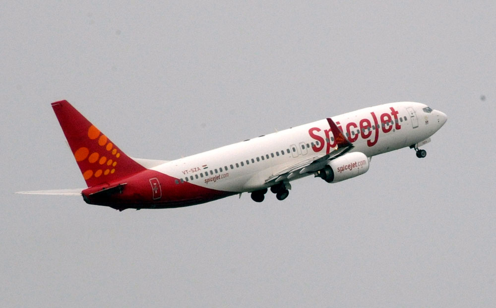 SpiceJet grappled with high fuel costs and a falling rupee and posted steep losses for the quarter ending on September 30