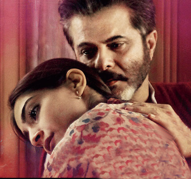 Anil Kapoor and Sonam K. Ahuja in a still from the movie