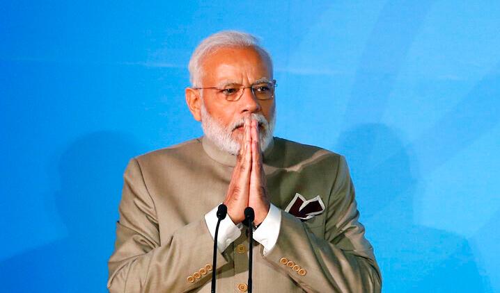 Modi calls for climate 'andolan'