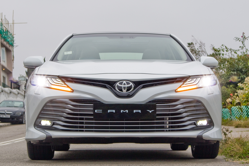 The Camry Hybrid retails at Rs 43 lakh and the Vellfire at Rs 79.95 lakh. The Camry is a premium sedan.