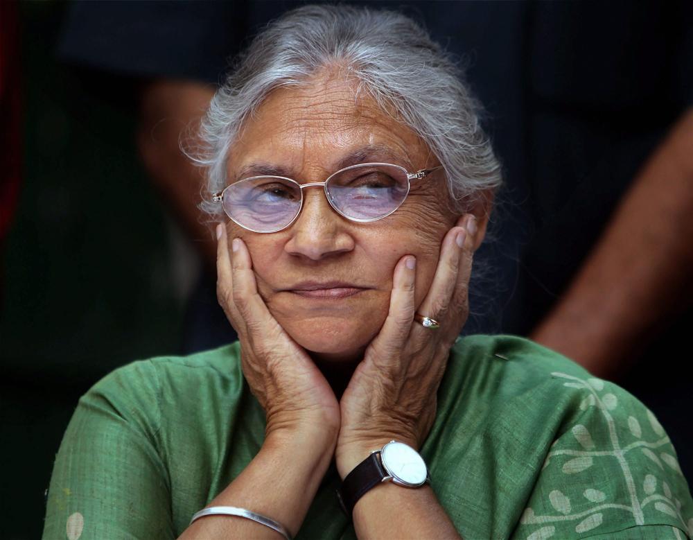 The late Sheila Dikshit.