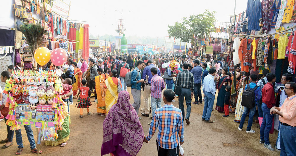 """The National Green Tribunal had asked varsity officials to conduct the annual fair in an """"environment-friendly"""" manner in cooperation with Birbhum district administration and Bolpur Municipality without causing air pollution and ensuring solid waste management"""