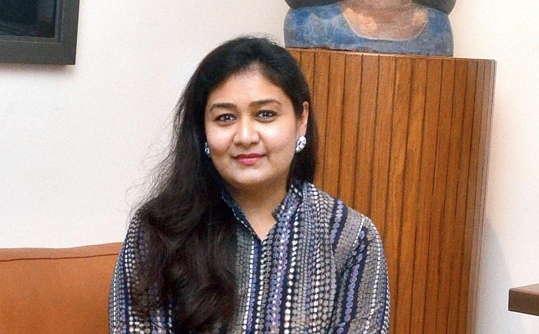 Richa Agarwal, executive director, Kolkata Centre for Creativity.
