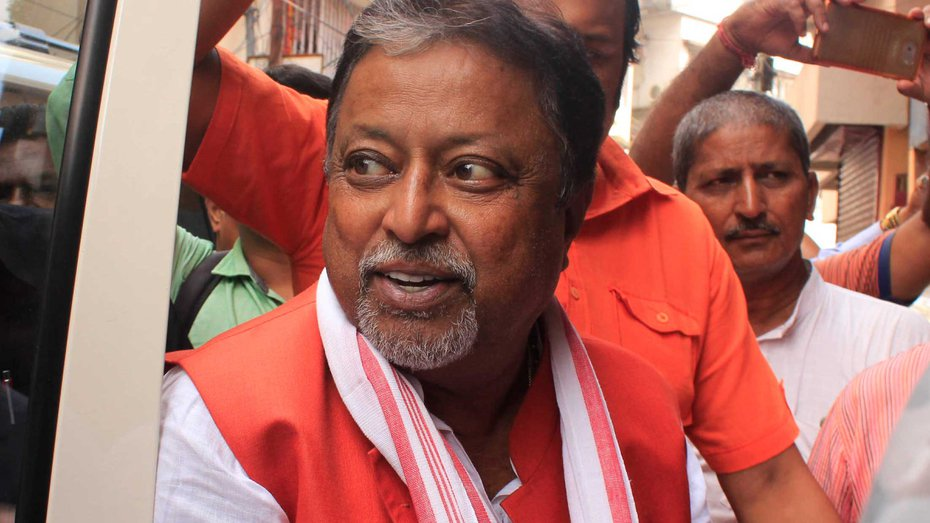 Roy was communicating with the Election Commission on behalf of the Bengal BJP.