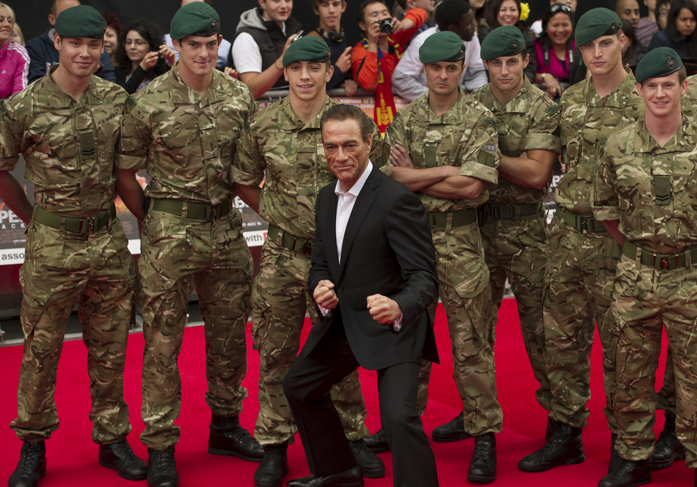 At 60, Jean-Claude Van Damme is doing self-mocking tough-guy commercials